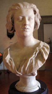 Bust of Constanza Bonarelli by Bernini